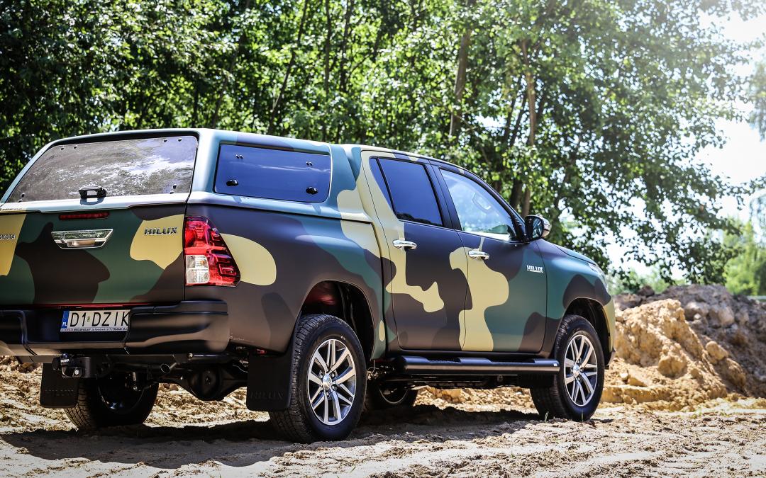 Toyota Pickup – Camuflage