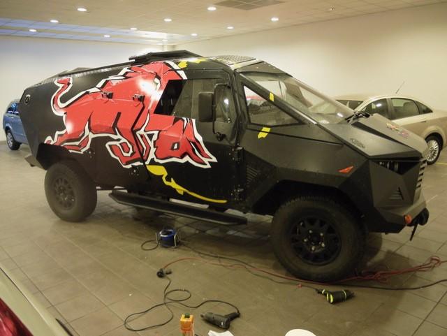 Red Bull – samochód imprezowy