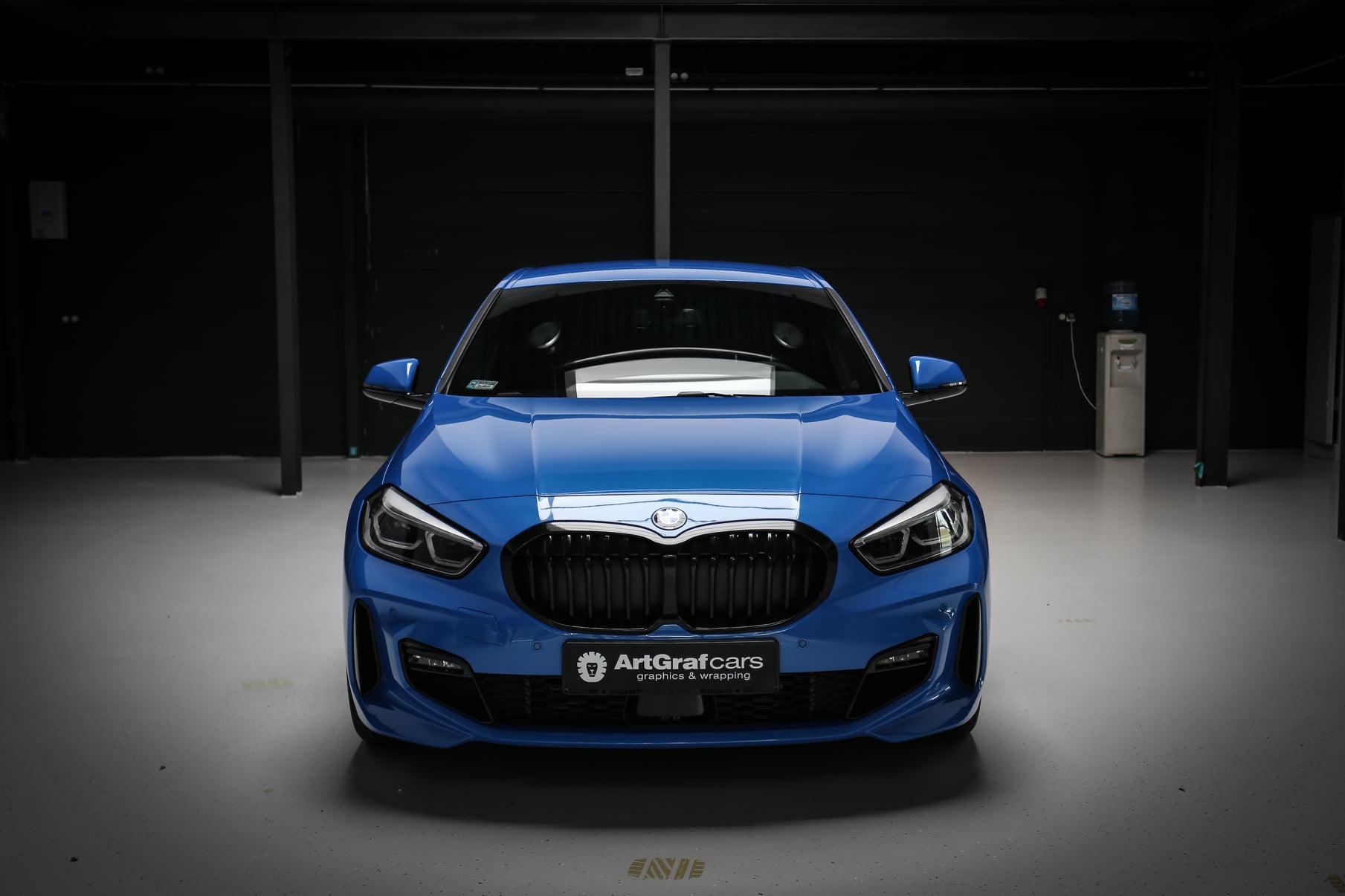 zmiana koloru samochodu BMW