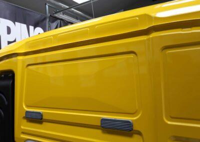 carwrapping samochodów ciężarowych