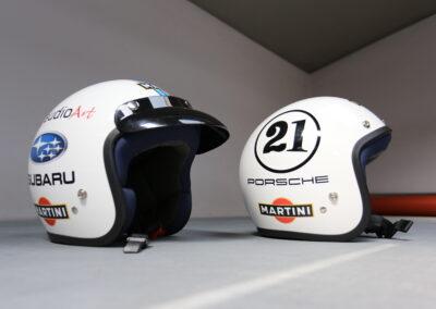 stylizacja kasków motocyklowych