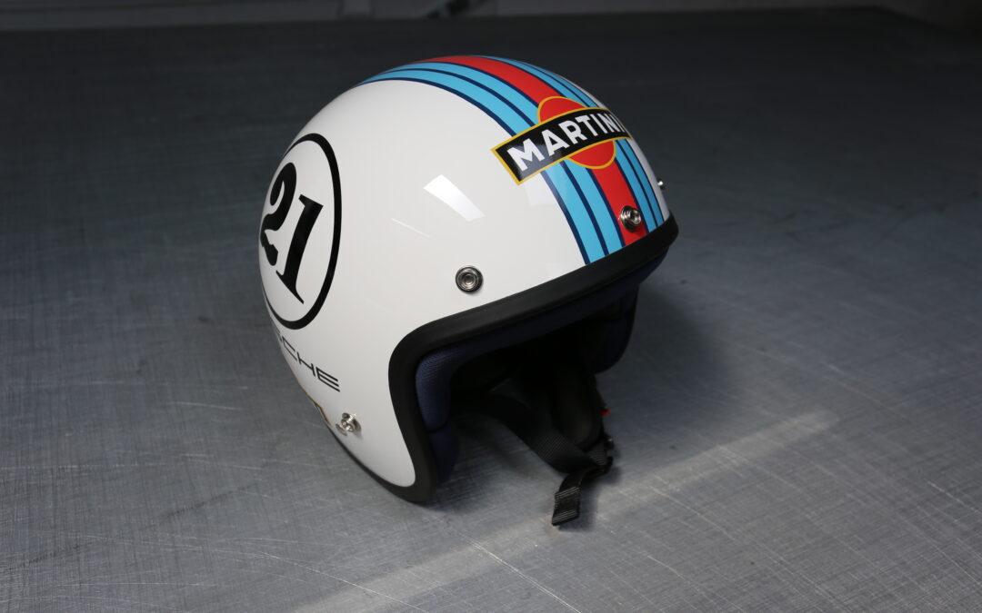 Stylizacja kasku motocyklowego